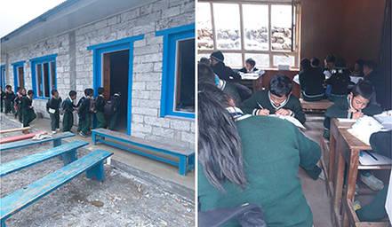 Aperta la scuola ricostruita da specchio dei tempi sull - Fondazione specchio dei tempi ...