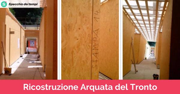 Ricostruzione scuole arquata del tronto il lavoro di - Fondazione specchio dei tempi ...