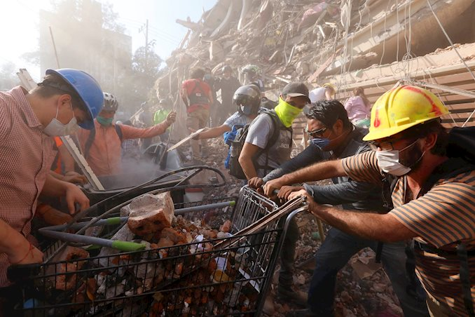 Donazioni per i terremotati in Messico