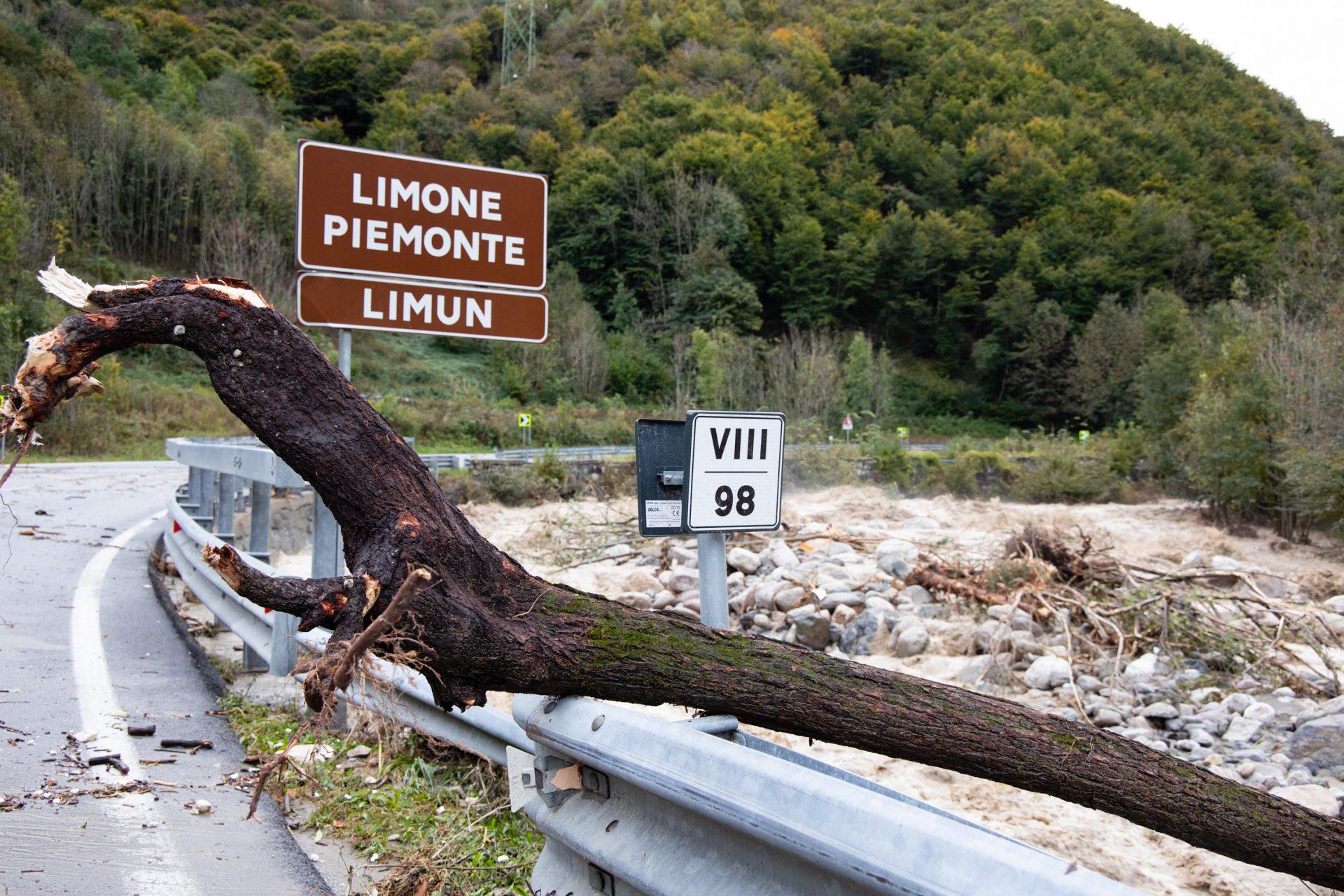 Inondations Piémont 2020