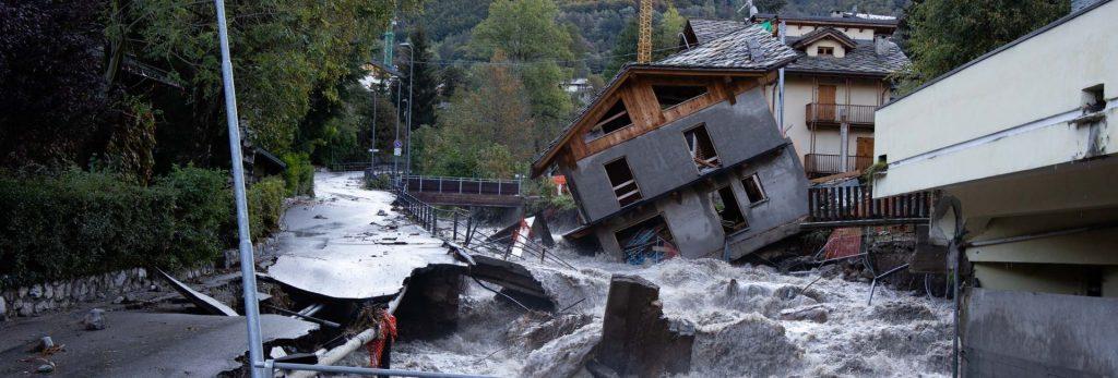 Maltempo in Piemonte raccolta fondi alluvionati 2020