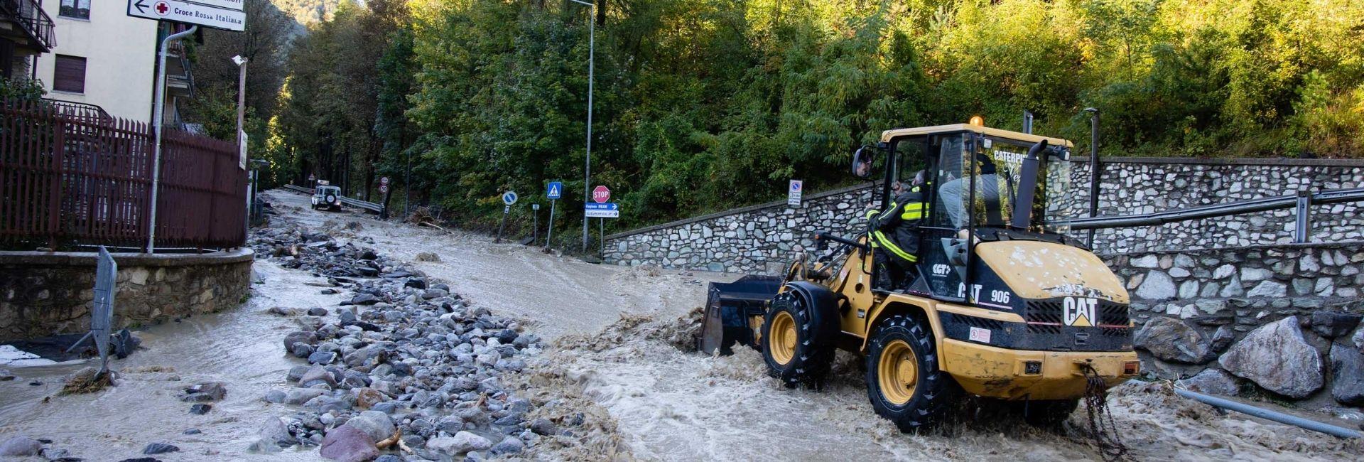 A chi donare per l'alluvione del Piemonte