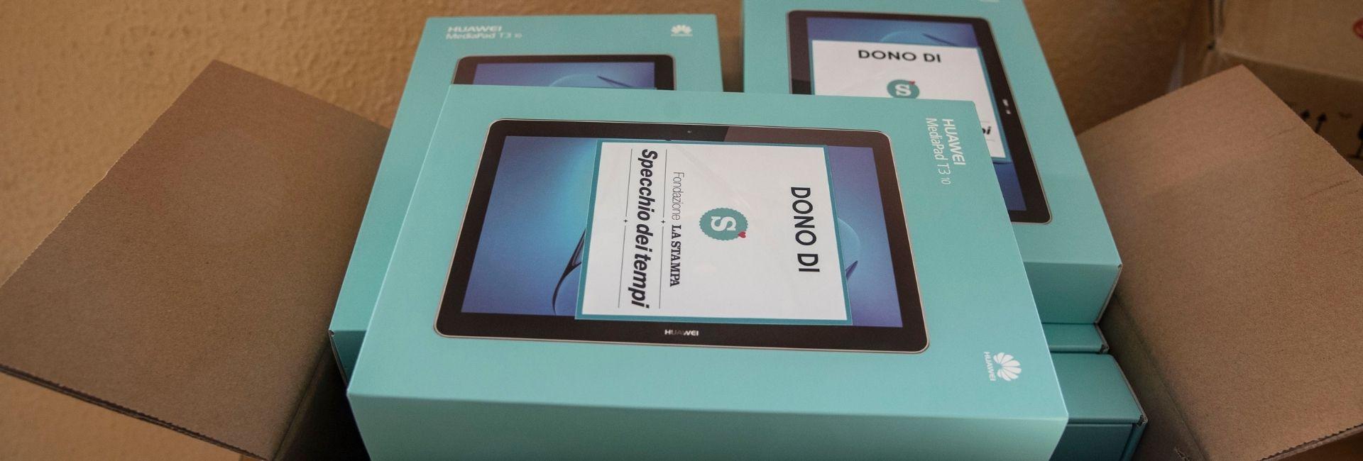 Donati 20 tablet alle scuole